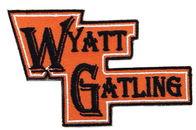 Wyatt Gatling Patches