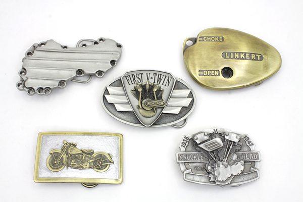 Motorcyclepedia Series Belt Buckle Set