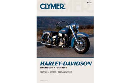 Clymer Repair Manual for 1948-1965 Panhead