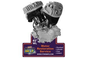 """45"""" Engine Plaque"""