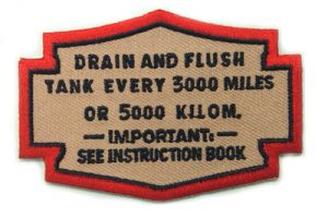 Drain Oil Patches