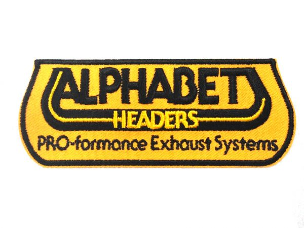 Alphabet Exhaust Patches