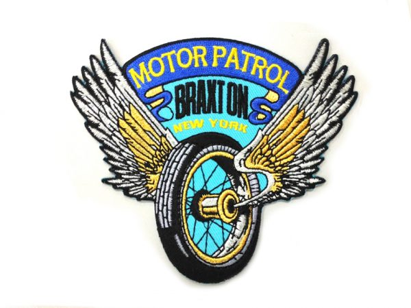 Wing Wheel Motor Patrol Patches