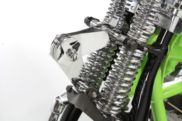 Spring Fork Scissor Steering Damper Kit