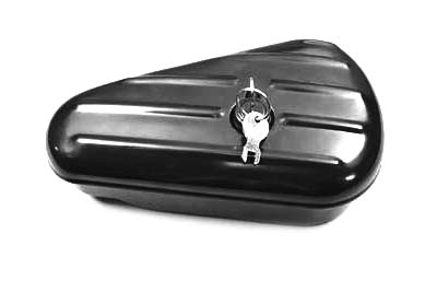 Oval Right Side Black Tool Box