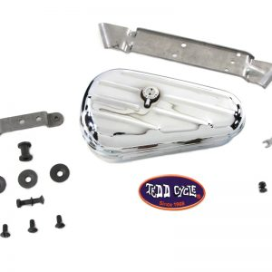 Chrome Rigid Tool Box Kit