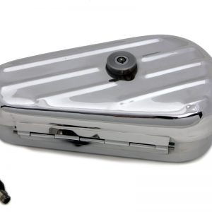 Oval Right Side Chrome Tool Box