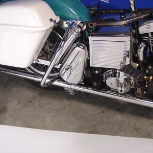 Chrome Right side Tool Box Kit