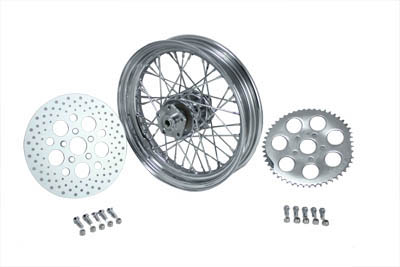 "16"" Rear Wheel Assembly Chrome"