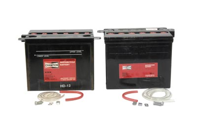 Champion H-12 Battery Set: FL 1965-1984