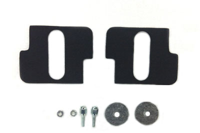 Harley Battery Terminal screws nuts /& Felt Washers Complete set 66112-23 7615-4