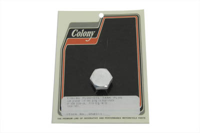 Cadmium Timing and Oil Tank Plug