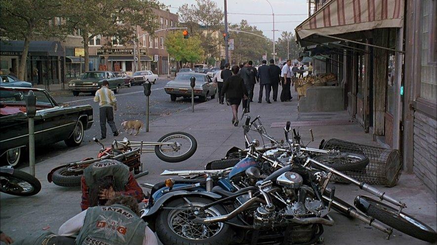 A Bronx Tale Harley Panhead chopper