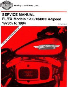Shovelhead service manual 1978-1984