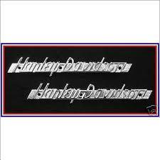 harley davidson gas tank emblem 1951-1954
