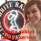 white rabbit